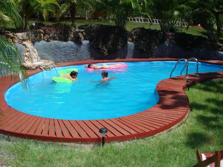 Бассейн своими руками - пошаговое руководство и советы мастеров как построить бассейн (115 фото)