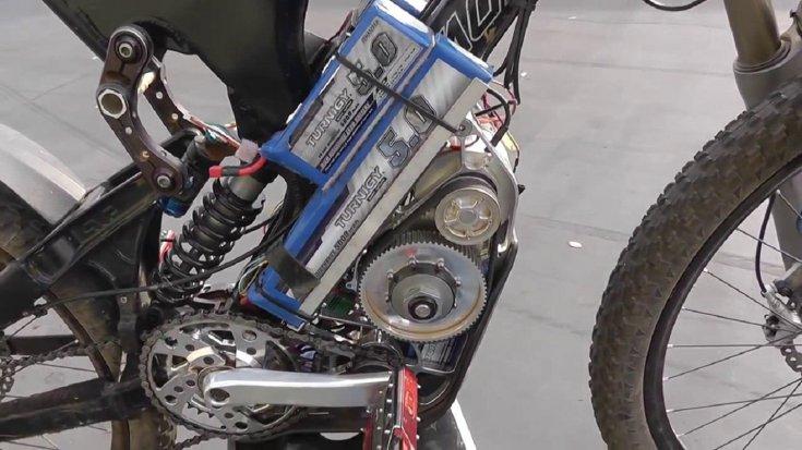 Электровелосипед своими руками - 100 фото и видео мастер-класс изготовления велосипеда