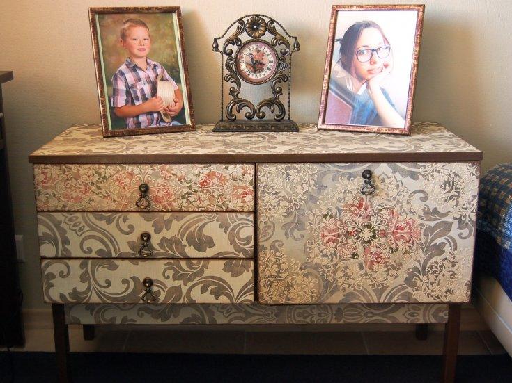 фото-идеи и варианты, как обновить старую мебель. Техники декупажа, основные разновидности. Мастер-класс с фото!