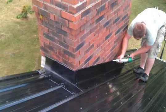 Герметизация крыши из профнастила - советы профессионалов