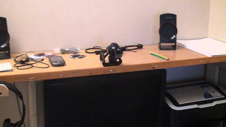 Инструкция, как сделать компьютерный стол своими руками