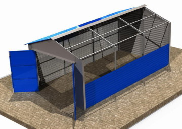 Как построить гараж из профлиста - советы профессионалов