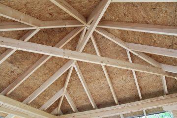 Как сделать 4-х скатную крышу: устройство, узлы, чертежи