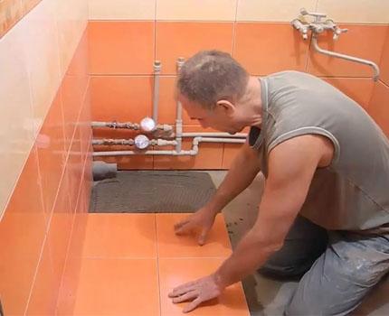 Как сделать гидроизоляцию под плитку своими руками - MyProfnastil