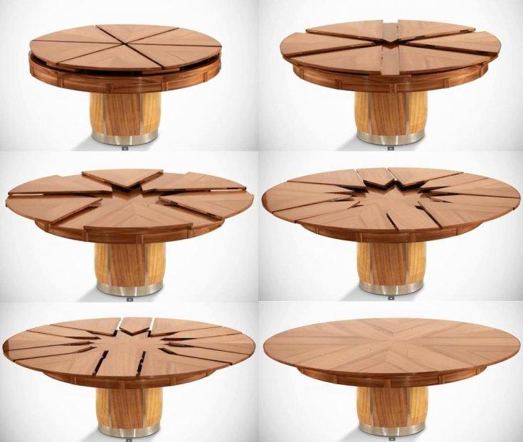 Как сделать круглый стол своими руками