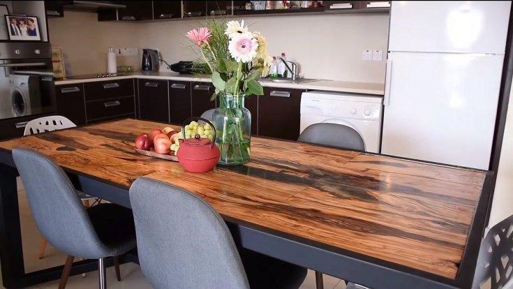 Как сделать кухонный стол своими руками
