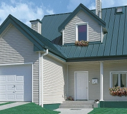 Как сделать обшивку фасада дома профнастилом