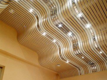 Как сделать подвесной потолок алюминиевый своими руками - MyProfnastil