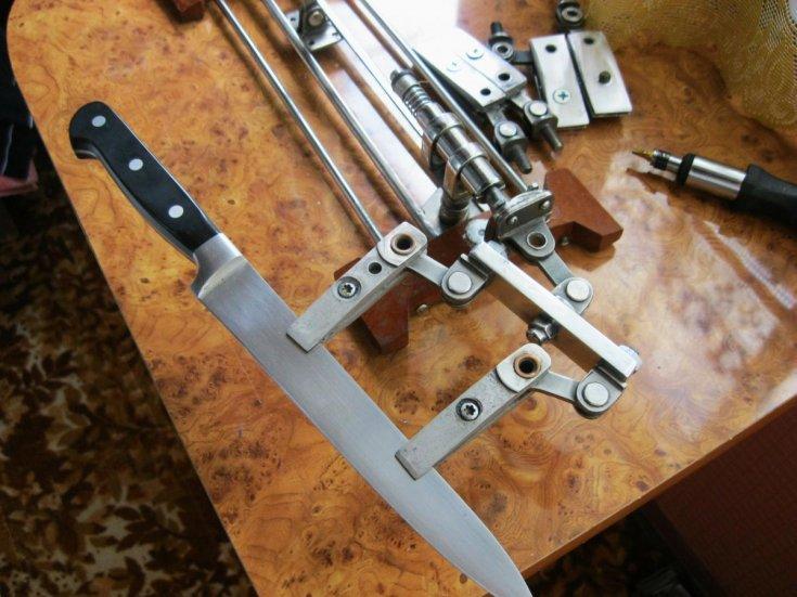 Как сделать точилку для ножа
