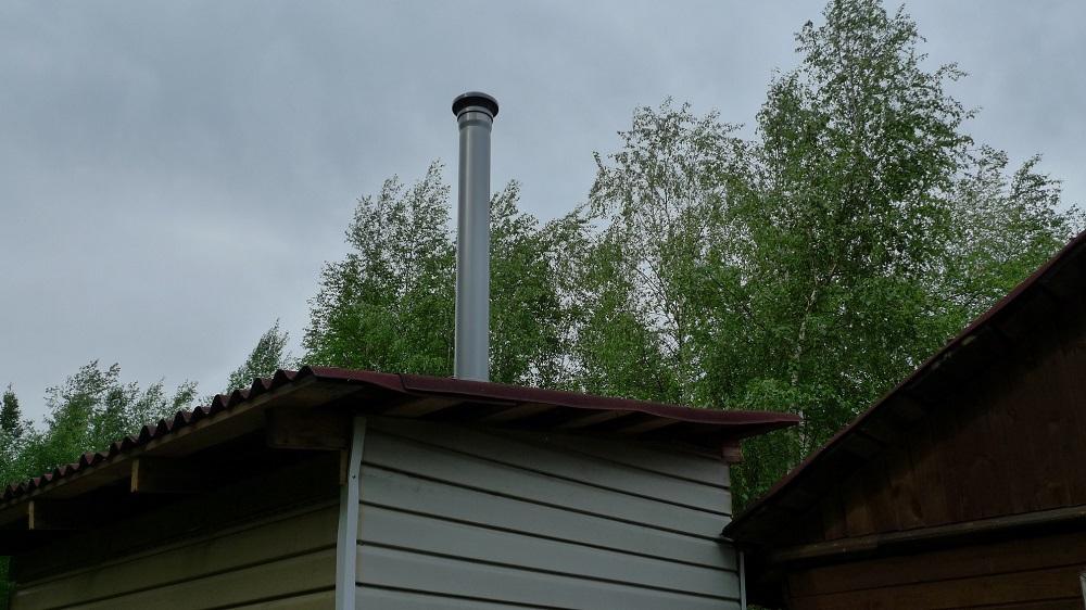 Как установить вентиляционную трубу на крышу - MyProfnastil