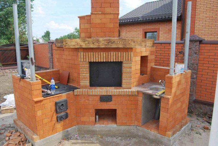 Кирпичная печь своими руками - 110 фото и видео инструкция как правильно построить печь из кирпича