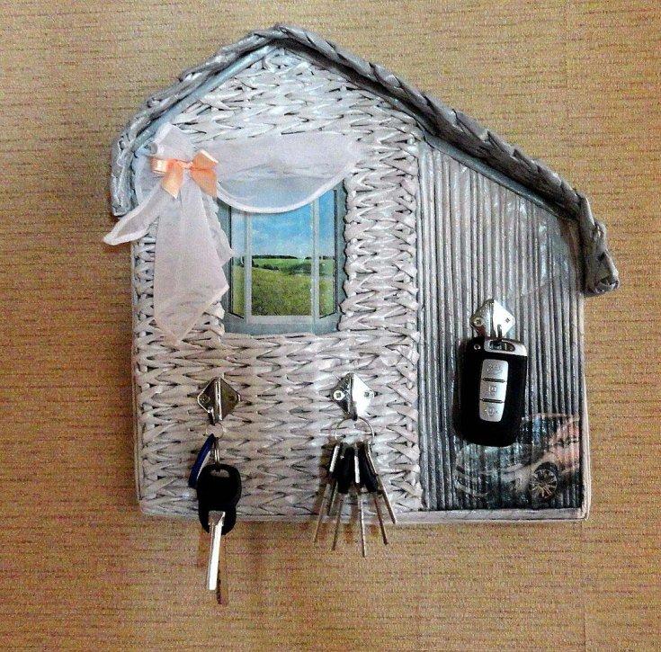 Ключница своими руками настенная - 115 фото и инструкция как сделать