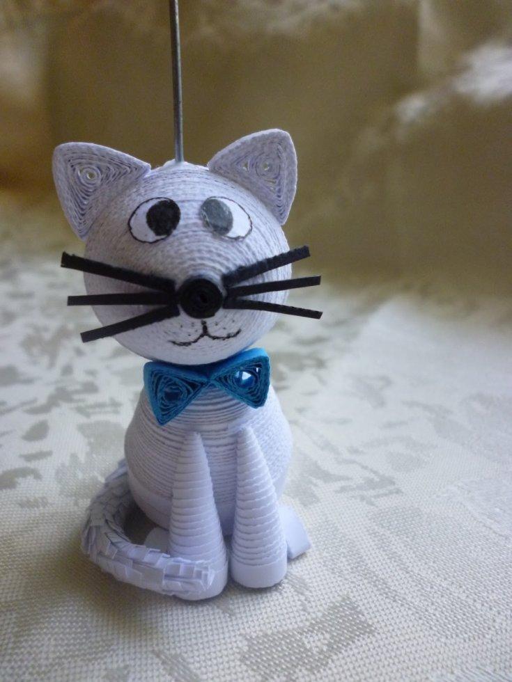 Кошка из бумаги (120 фото)