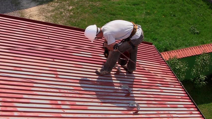 Краска для оцинкованной крыши - как правильно выбрать