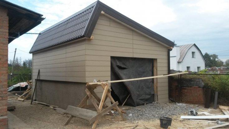 Крыша гаража своими руками - 120 фото и инструкции как сделать!