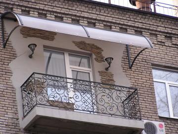 Крыша на балконе последнего этажа - особенности конструкции и установки