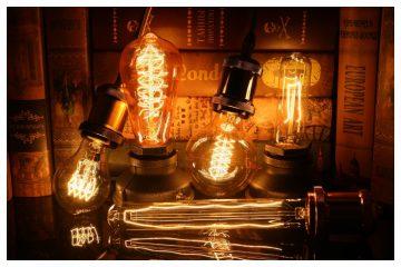 Лампа Эдисона в интерьере