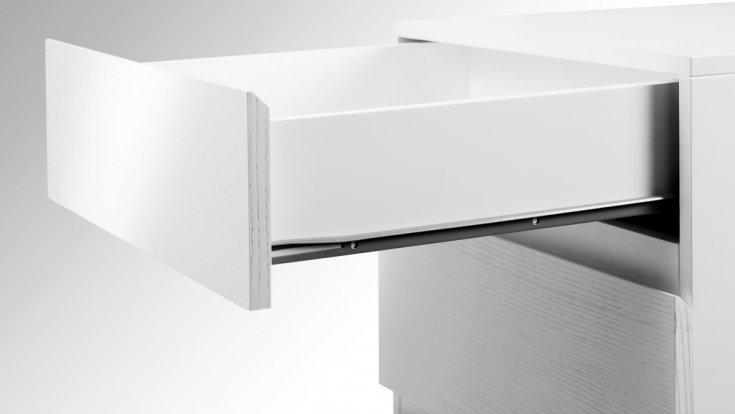 Направляющие для ящиков - выдвижные системы и варианты их применения (110 фото и видео)