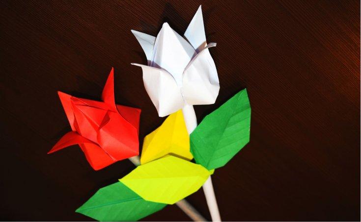 Объемные игрушки в технике оригами