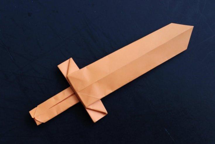 Оригами из бумаги оружие для начинающих