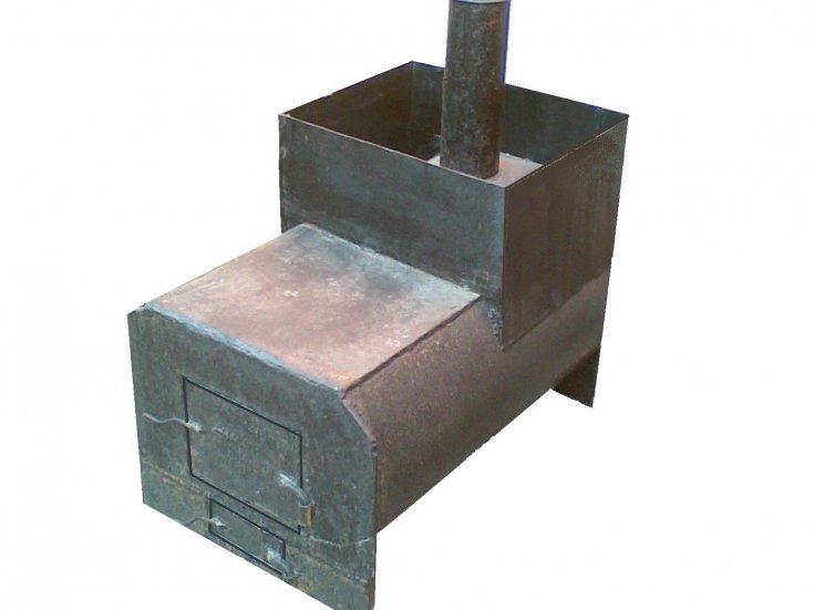 Печь своими руками из металла