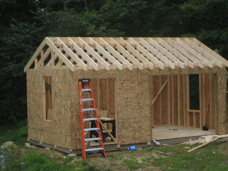 Сарай своими руками - простые рекомендации и секреты мастеров, инструкции по строительству