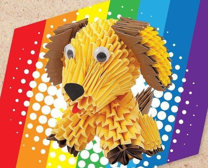 Схема сборки собаки оригами - 135 фото с лучшими инструкциями!