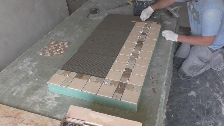 Установка столешницы своими руками - 155 фото обновления столешницы на кухне и в ванной комнате