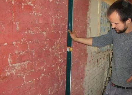 Выравнивание стен гипсокартоном своими руками, инструкция