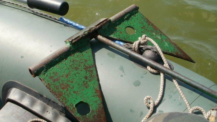 Якорь для лодки своими руками