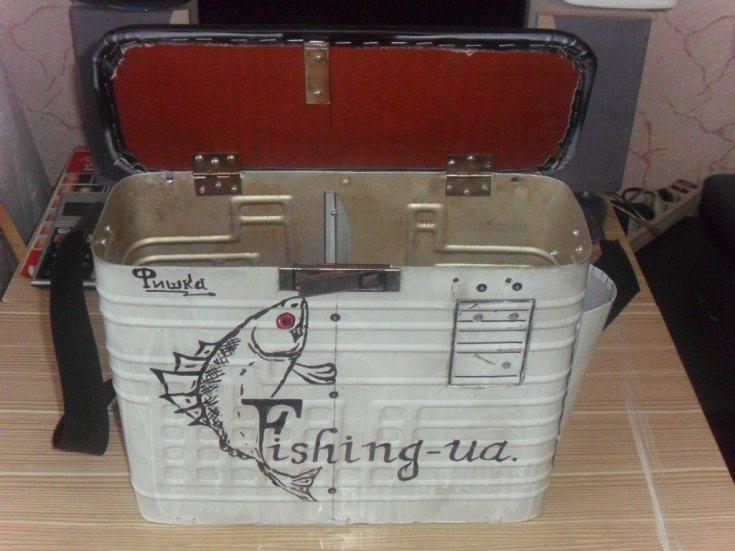 Ящик для рыбалки своими руками
