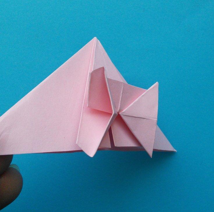 Закладки для книг из бумаги оригами